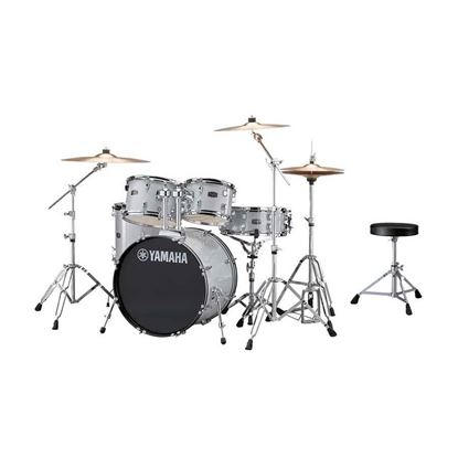 Yamaha RYD22 Rydeen Euro Acoustic Drum Kit with 22in Bass Drum in Silver Glitter