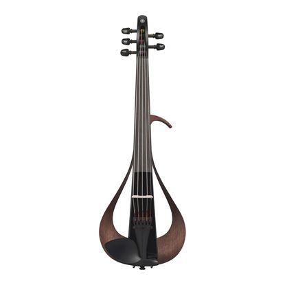 Yamaha YEV105 Electric 5-String Violin in Black - Front