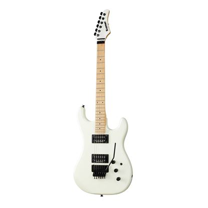 Kramer Pacer Electric Guitar in Vintage Pearl White - Front