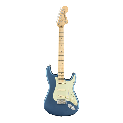 Fender American Performer Stratocaster Electric Guitar - Maple Neck - Satin Lake Placid Blue