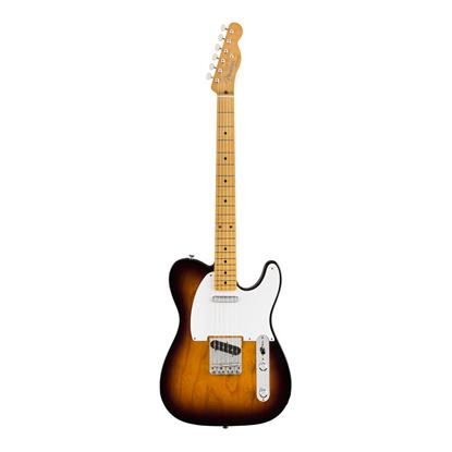 Fender Vintera 50s Telecaster Electric Guitar MN - 2-Colour Sunburst - Front