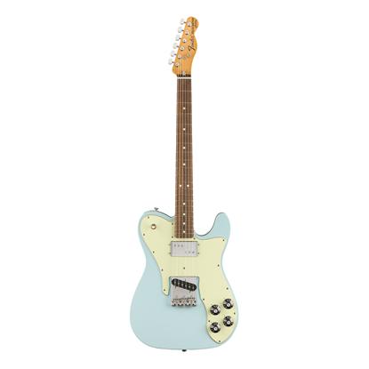 Fender Vintera 70s Telecaster Custom Electric Guitar MN - Sonic Blue - Front