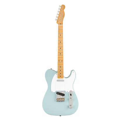 Fender Vintera 50s Telecaster Electric Guitar MN - Sonic Blue - Front