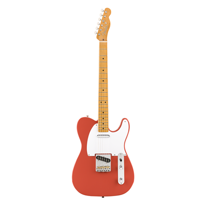 Fender Vintera 50s Telecaster Electric Guitar MN - Fiesta Red - Front