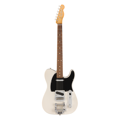 Fender Vintera 60s Telecaster Bigsby Electric Guitar PF - White Blonde - Front
