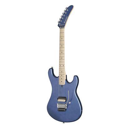 Kramer The 84 Electric Guitar in Blue Metallic - Front