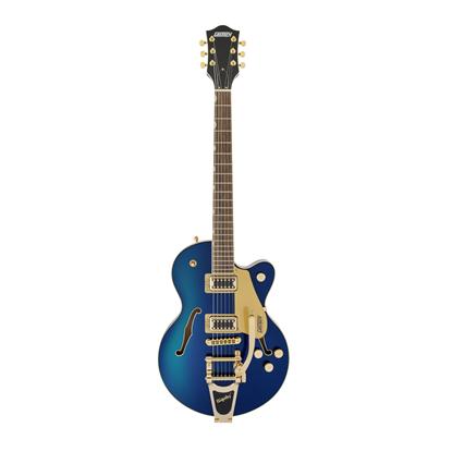Gretsch G5655TG Electromatic Centre Block Jr Electric Guitar LRL Azure Metallic - Front