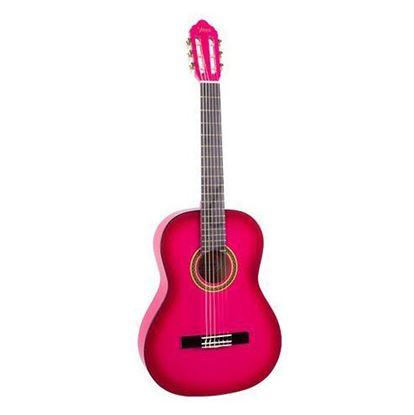 Valencia VC101PKS 1/4 Size Classical Guitar - Pink Sunburst