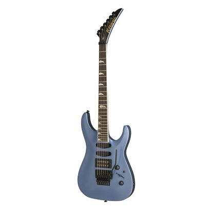 Kramer SM1 Electric Guitar in Candy Blue - Front