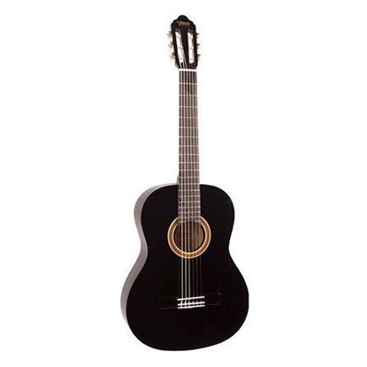 Valencia VC104BK 4/4 Size Classical Guitar - Black
