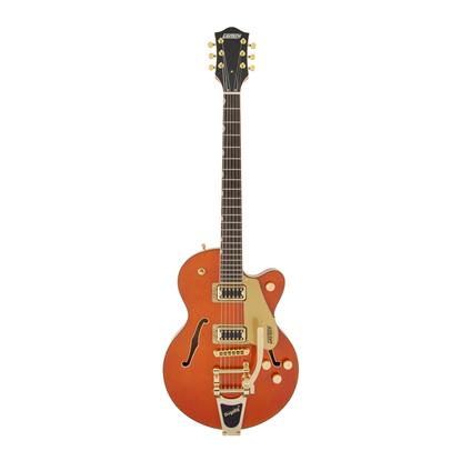 Gretsch G5655TG Electromatic Centre Block Jr Electric Guitar LRL - Orange Stain - Front