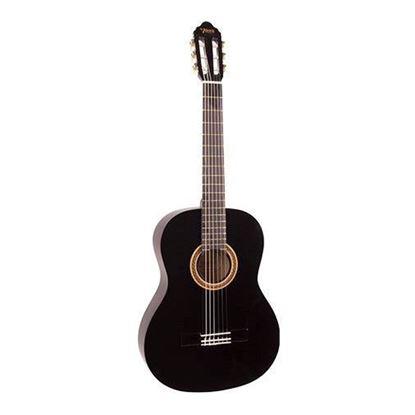 Valencia VC102BK 1/2 Size Classical Guitar - Black