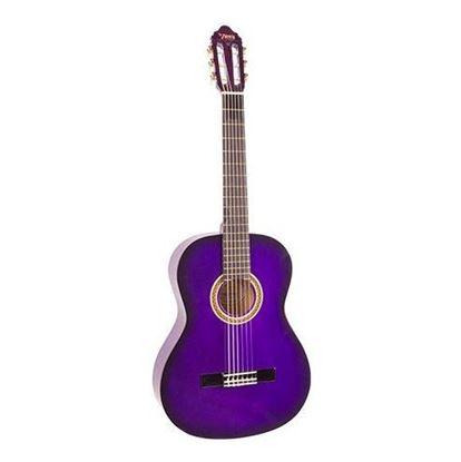 Valencia VC104PPS 4/4 Size Classical Guitar - Purple Sunburst