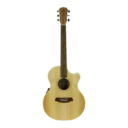 Cole Clark Angel 1 Series Acoustic Guitar with Pickup and Cutaway - Bunya/Blackwood