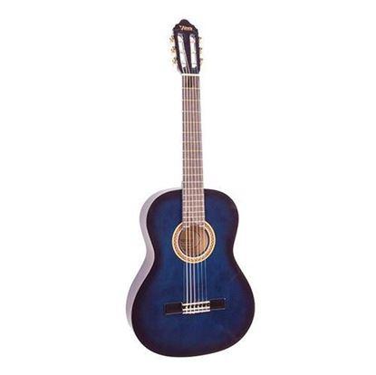 Valencia VC103BUS 3/4 Size Classical Guitar - Blue Sunburst