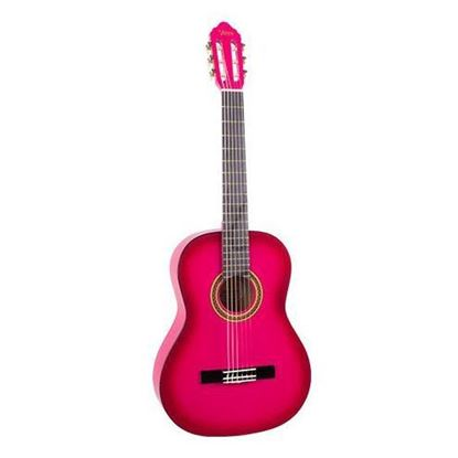 Valencia VC103PKS 3/4 Size Classical Guitar - Pink Sunburst