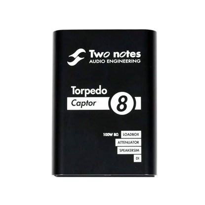 Two Notes Torpedo Captor Compact Loadbox And Amp DI - 8 Ohm - Front