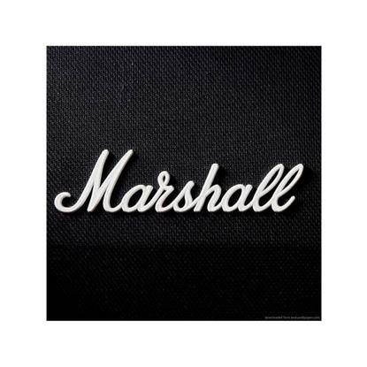 Marshall White Logo Large