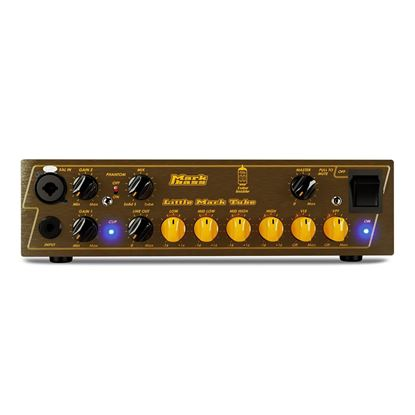 MarkBass LM Tube 500 Bass Amp Head (500w) - Front