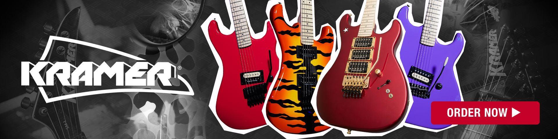 Kramer Electric Guitars - Coming Soon to Mega Music.