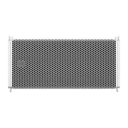 RCF HDL6AW Active 2-Way Line Array Module 2x 6.5in in White (HDL6AW) - Front