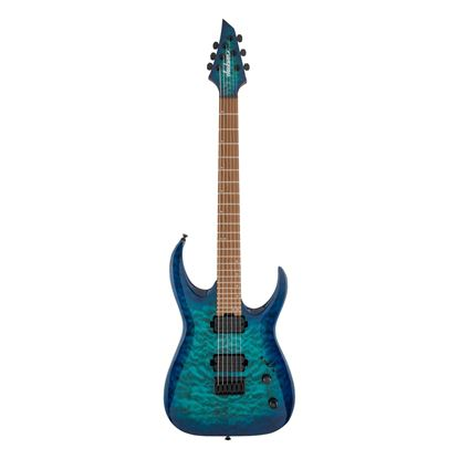Jackson HT6QM Pro Series Signature Misha Mansoor Juggernaut Electric Guitar with Caramelized Maple Fingerboard in Chlorine Burst