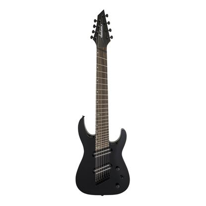 Jackson X Series Dinky Arch Top Multi-Scale Electric Guitar with Laurel Fingerboard in Gloss Black - Front