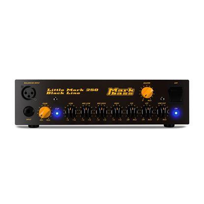 MarkBass Little Mark 250 Black Line Bass Amp Head (250w @ 4ohm) - Front