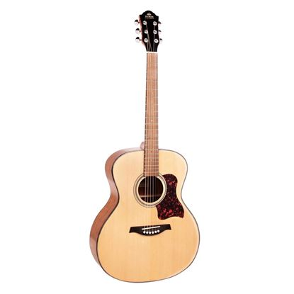 Gilman GA10 Grand Auditorium Acoustic Guitar with Pickup in Natural Gloss