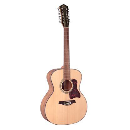 Gilman GA112 12-String Grand Auditorium Acoustic Guitar in Natural Satin