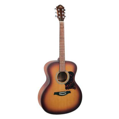 Gilman GA12 Grand Auditorium Acoustic Guitar in Tobacco Sunburst Satin