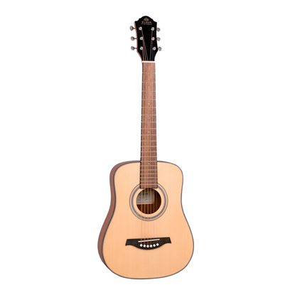 Gilman GBY10 Mini Traveller Dreadnought Acoustic Guitar in Natural Satin