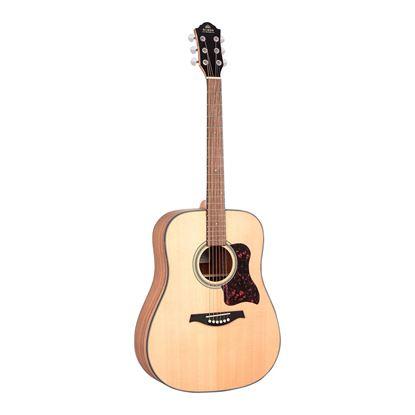 Gilman GD10 Dreadnought Acoustic Guitar in Natural Satin