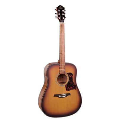 Gilman GD10 Dreadnought Acoustic Guitar in Tobacco Sunburst Satin