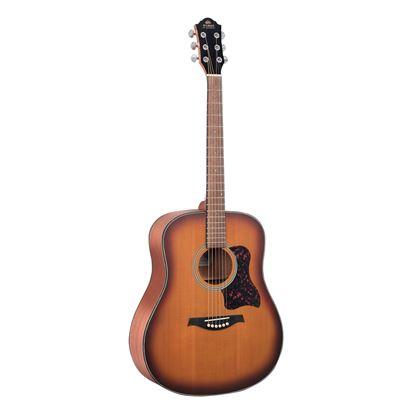 Gilman GD12 Dreadnought Acoustic Guitar in Tobacco Sunburst Satin