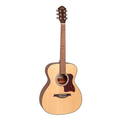 Gilman GOM10 Orchestra Acoustic Guitar in Natural Satin