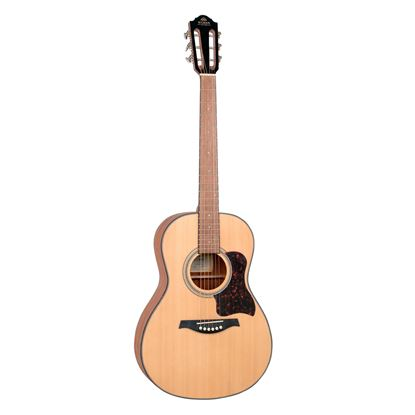 Gilman GPA10 Parlour Acoustic Guitar with Spruce Top in Natural Satin