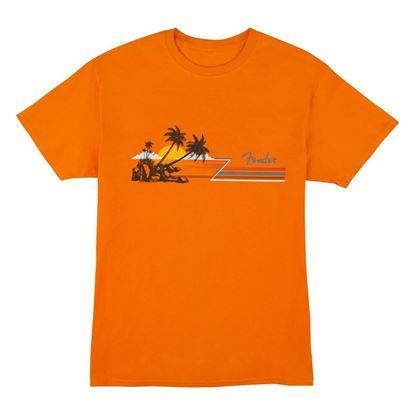 Fender Hang Loose T-Shirt in Orange (Extra Large)