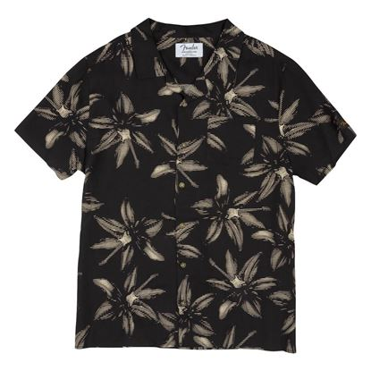 Fender The Norvell Button Up Shirt in Black (Small)