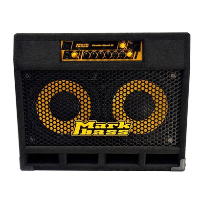 MarkBass CMD 102P Bass Amp Combo with 2 x 10in Speakers (500w) - Top Front