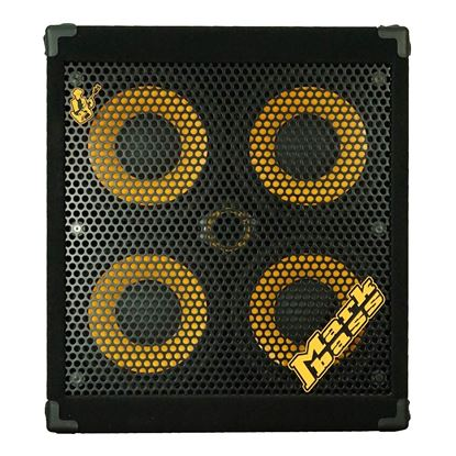 MarkBass 104 Marcus Miller Signature Bass Amp Cabinet with 4 x 10in Speakers (800w & 8ohm) - Front
