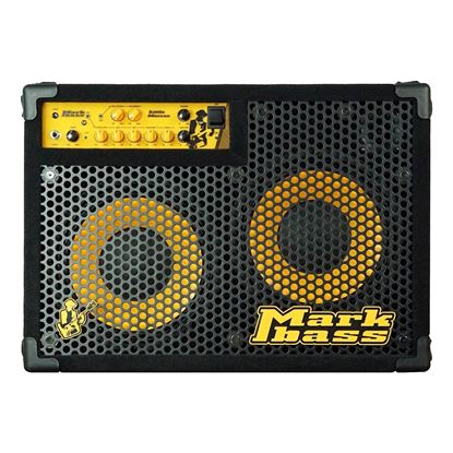 MarkBass CMD102500 Marcus Miller Signature Bass Amp Combo with 2 x 10in Speakers (500w) - Front