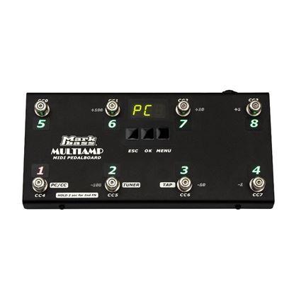 MarkBass MIDI Pedalboard for MultiAmp Bass Amp Modelling Head
