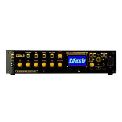 MarkBass MultiAmpS Bass Amp Modelling Head - Front