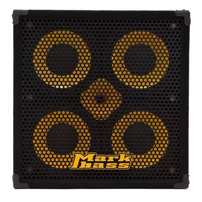 MarkBass Standard 104HR-4 Rear Ported Bass Amp Cab with 4 x 10in Speakers (800w @ 4ohm) - Front