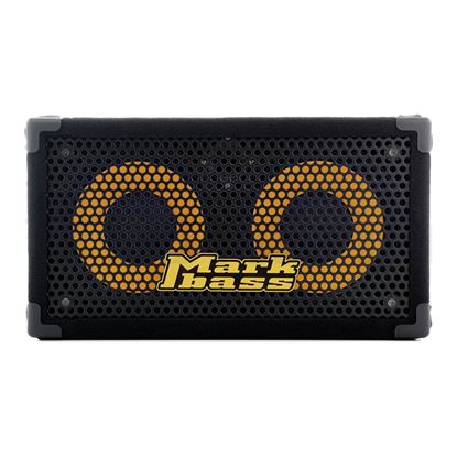 MarkBass Traveler 102-P8 Bass Amp Cab with 2x 10in Speakers (400w @ 8ohm) - Front