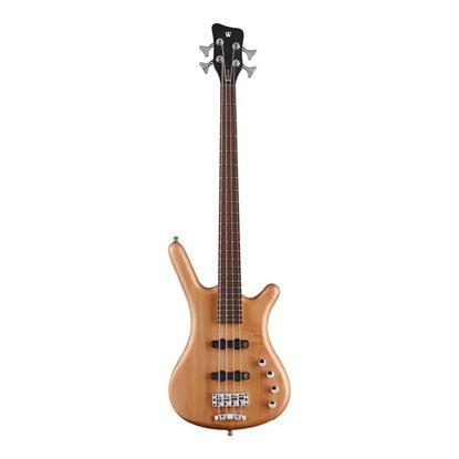 Warwick Corvette Basic 4-String Bass Guitar in Natural Transparent Satin