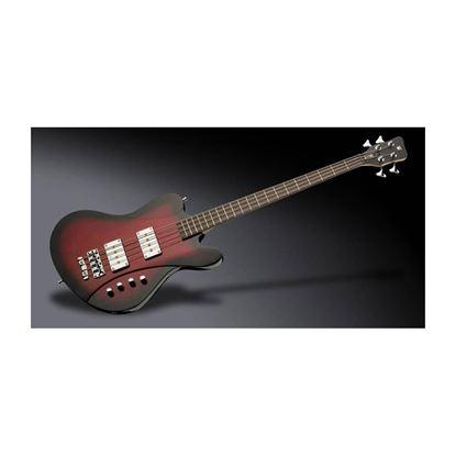 Warwick Idolmaker 4-String Bass Guitar in Burgundy Blackburst