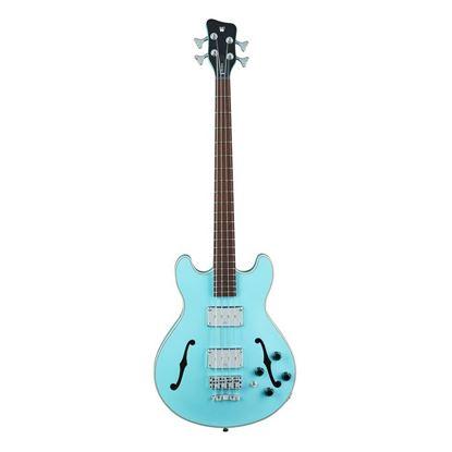 Warwick Star Bass 4-String Bass Guitar in Solid Daphne Blue High Polish - Front