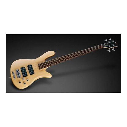 Warwick Streamer Standard 4-String Bass Guitar in Natural Transparent Satin - Front